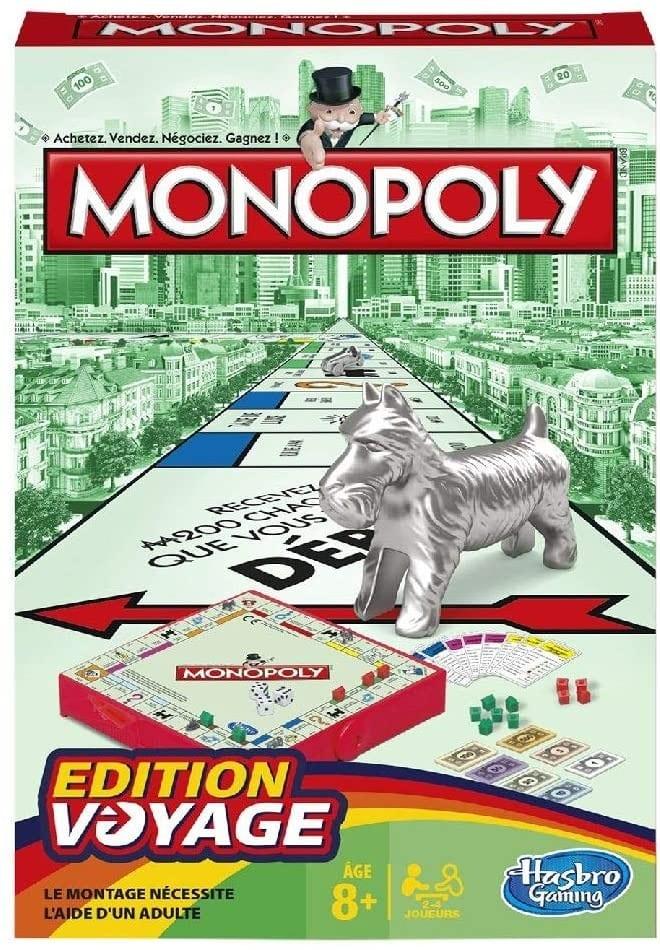 Monopoly, édition voyage