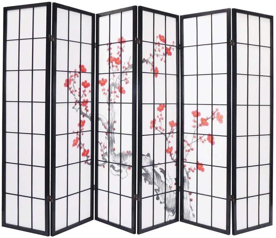 Un paravent japonais