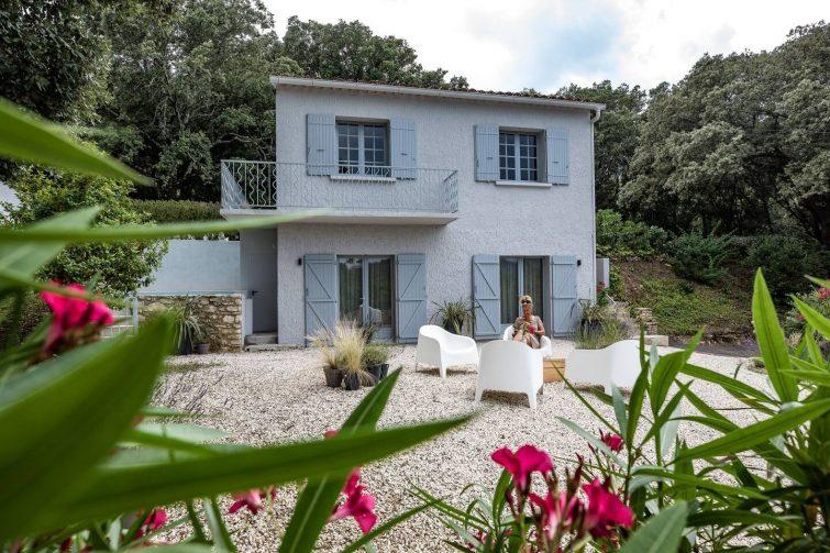 La Roque sur Ceze, Villa charme & luxe, Villa Lys