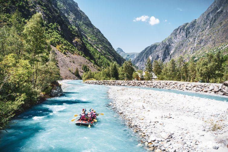Rafting 2 Alpes activités outdoor été