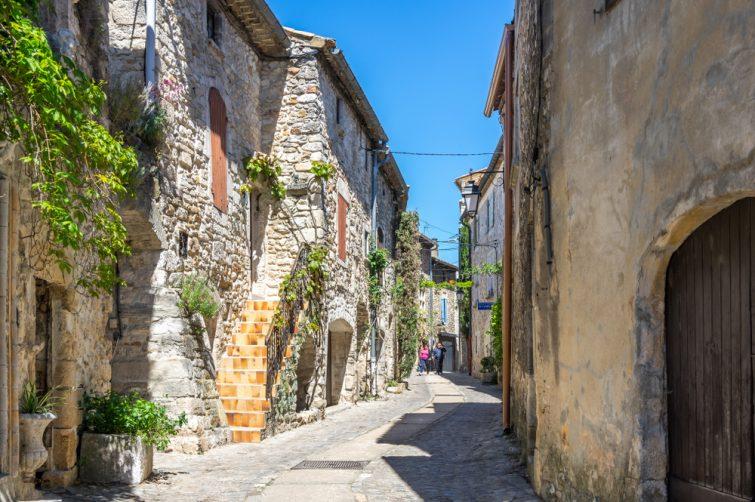 Rue du Moulin Aiguèze