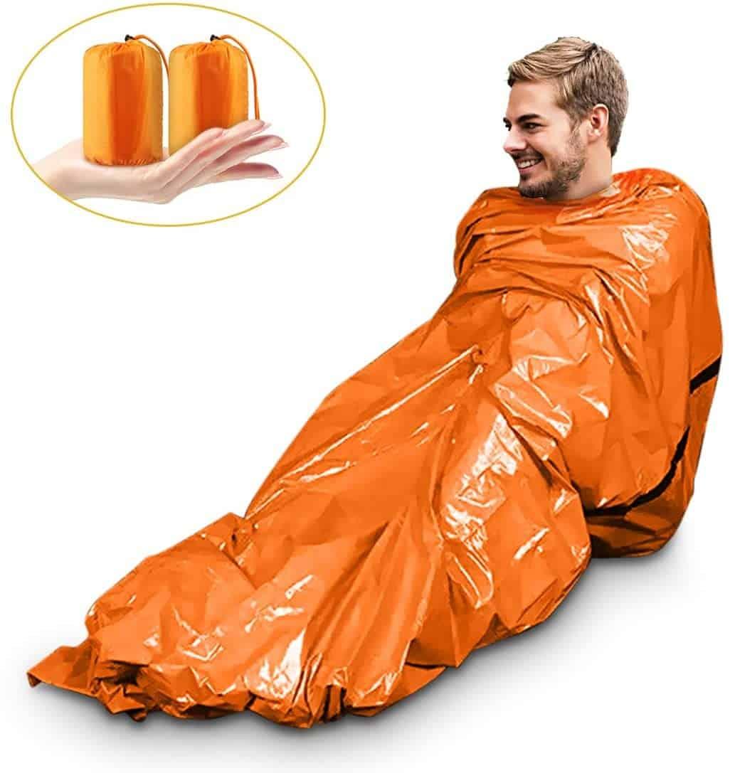 Un sac de couchage de survie