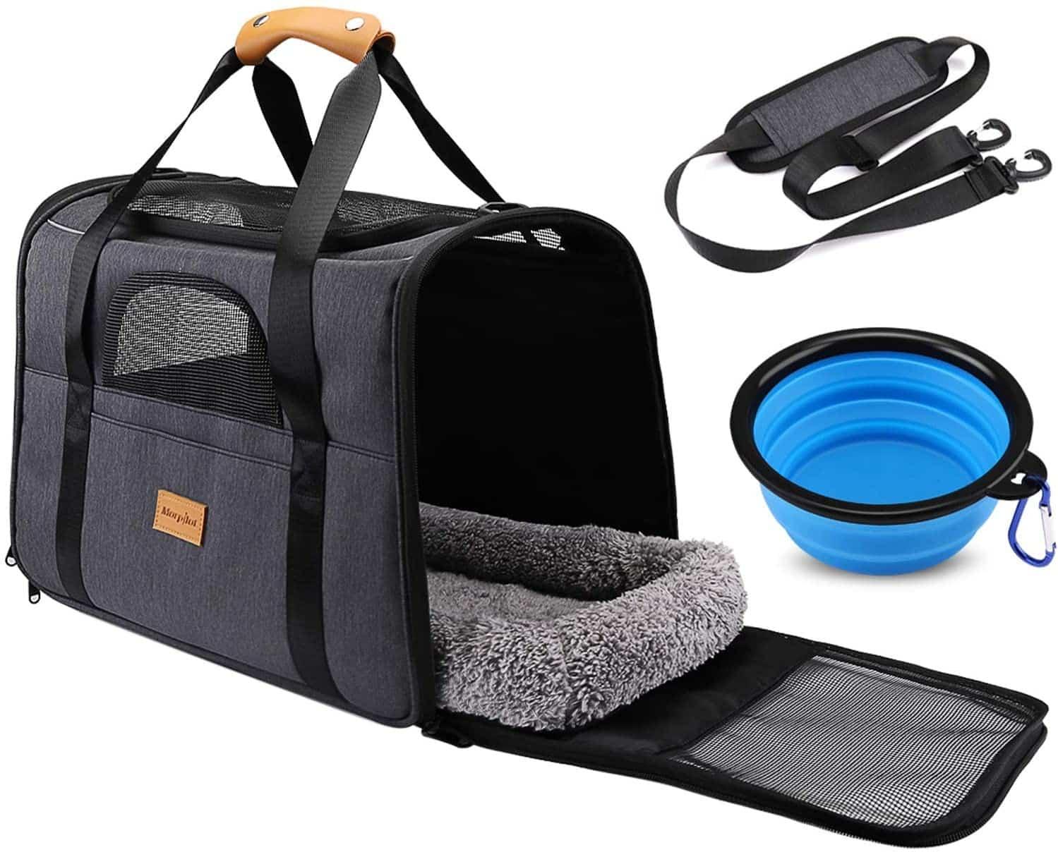 Un sac pour transporter votre animal de compagnie