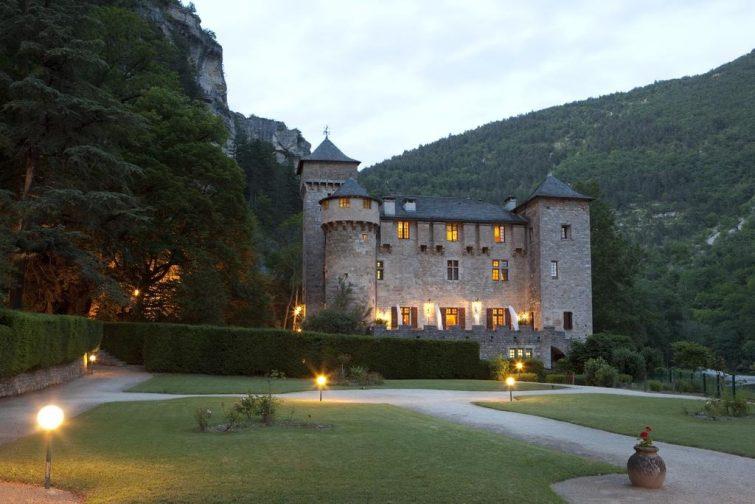 Chateau De La Caze - dormir à Sainte-Énimie