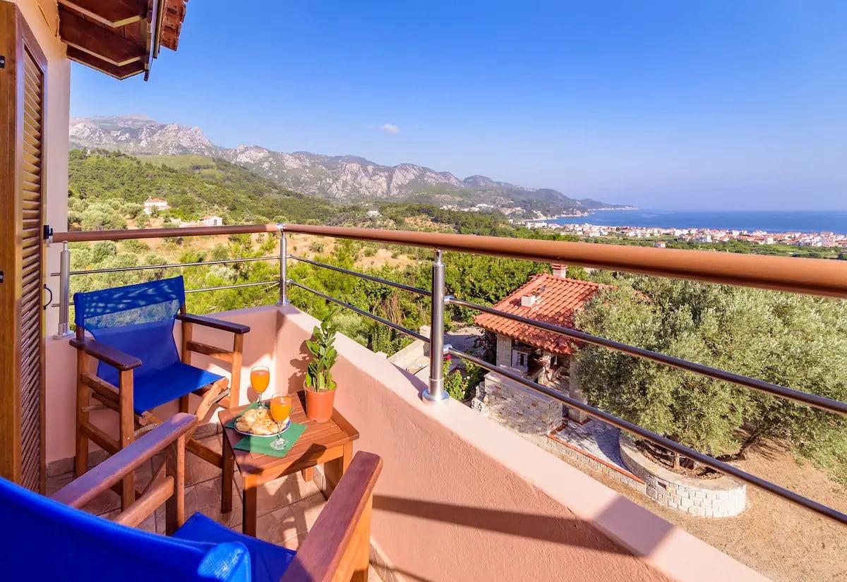 Maisonette avec vue imprenable Samos
