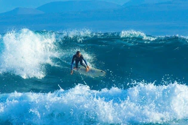 Les endroits où faire du surf, kitesurf et de la planche à voile à Fuerteventura