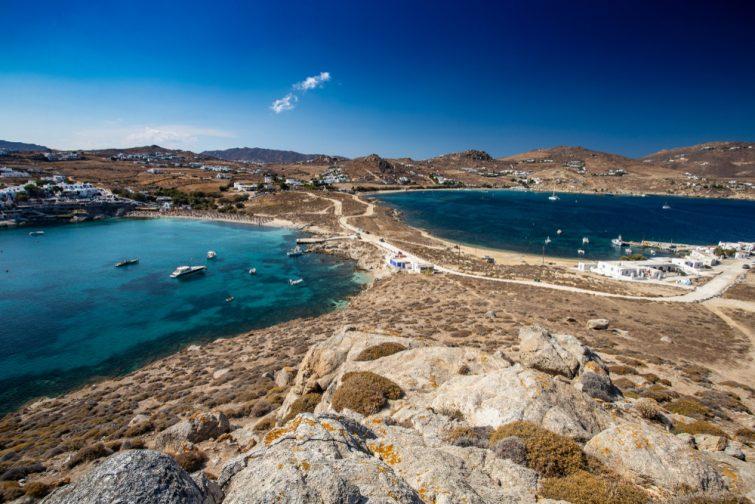 Plage Agia Anna, Mykonos