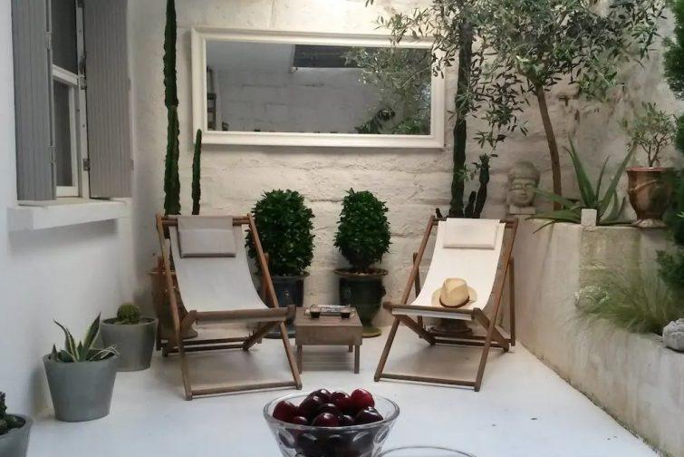 Studio charmant intra-muros et dans un quartier calme