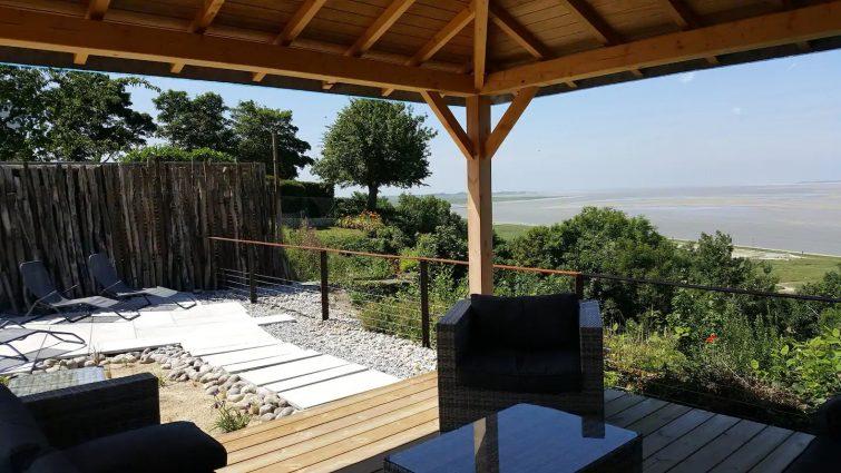 Airbnb fort-mahon : logement vue sur la baie