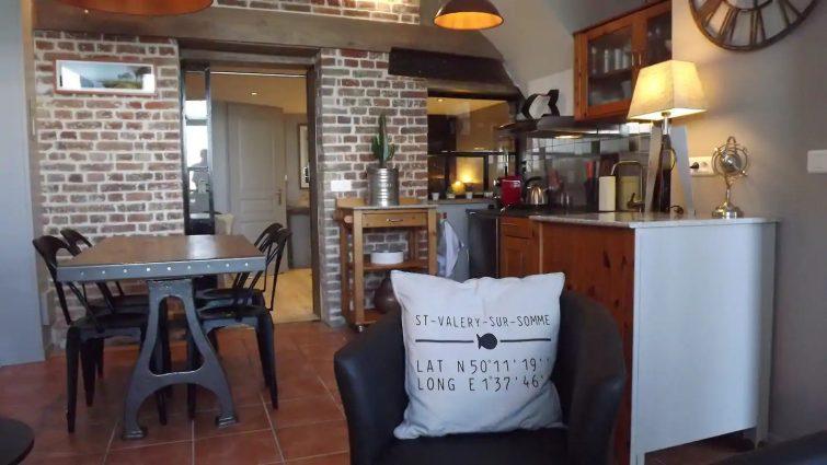 Airbnb à Fort Mahon : appartement les pieds dans l'eau