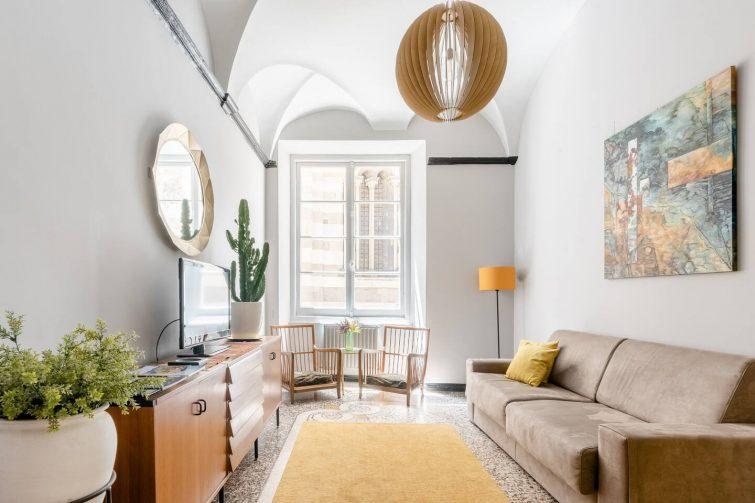 Airbnb à Gênes : appartement vintage