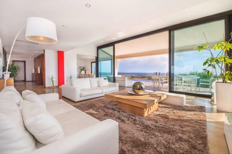 Airbnb palma : villa avec vue