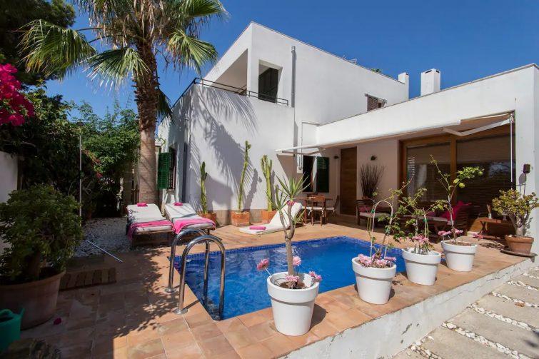 Airbnb à Palma : grande maison sur la côte