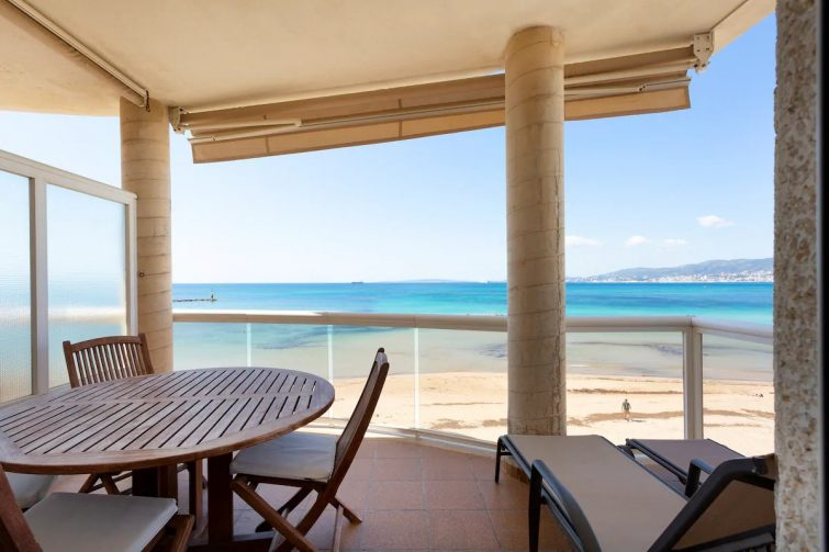 Airbnb palma : appartement vue sur la mer