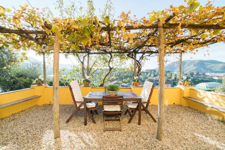 Airbnb à Gênes : Maison relax Italian Style