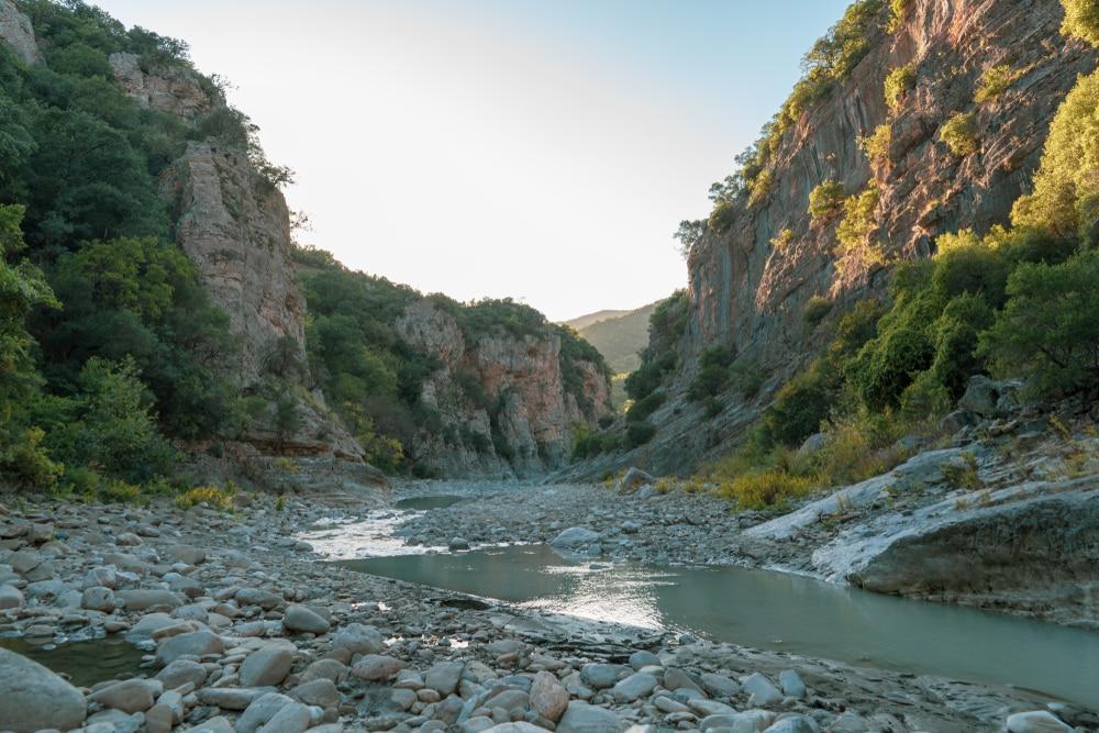 Canyon du parc de Bredhi Hotoves
