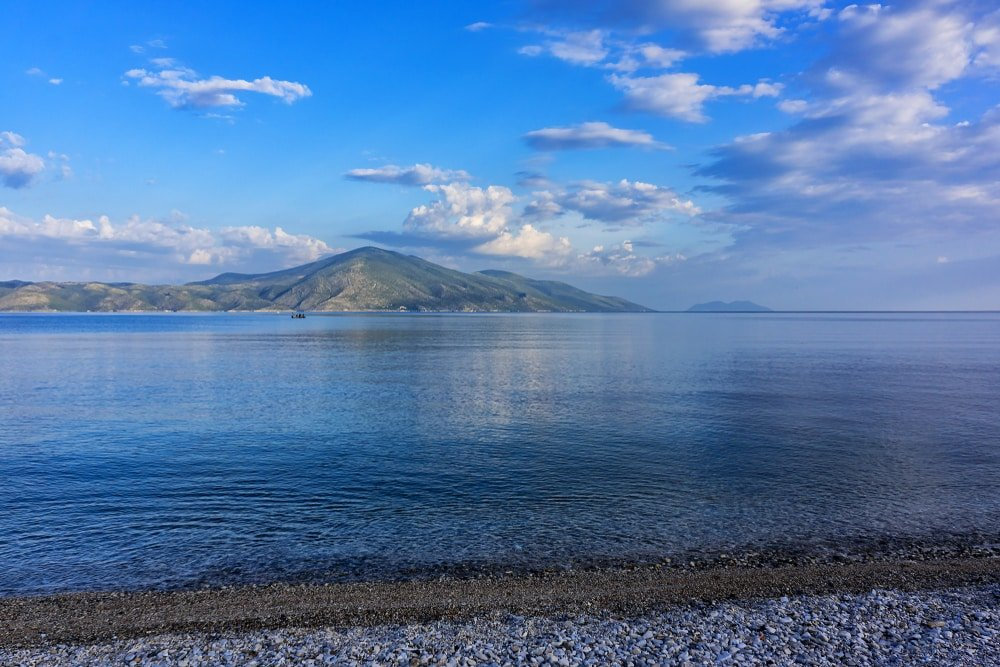 Vue de la péninsule de Karaburun