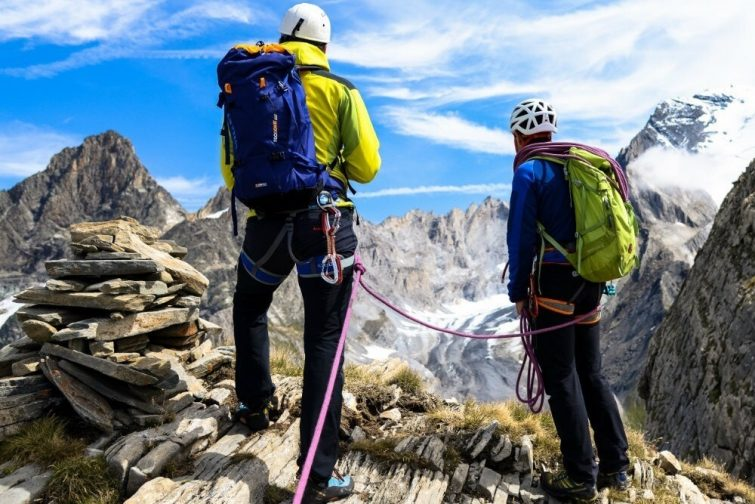 Alpinisme trois vallées