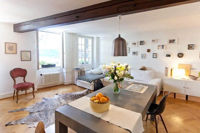 Airbnb à Lausanne : appartement au coeur de la ville