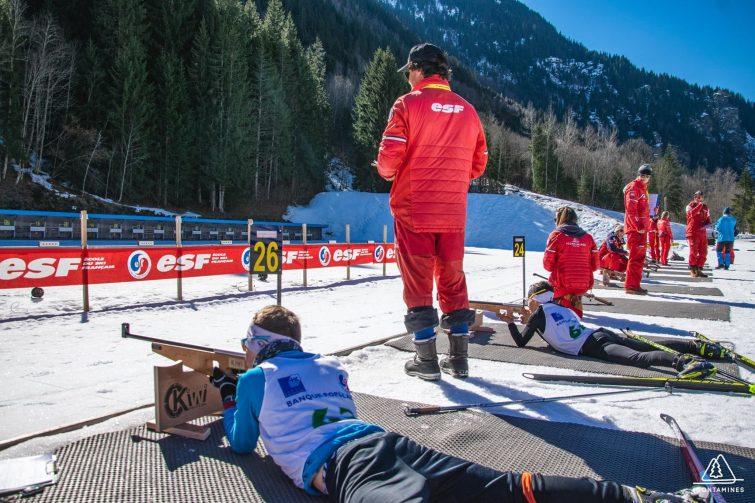 Biathlon Contamines Montjoie