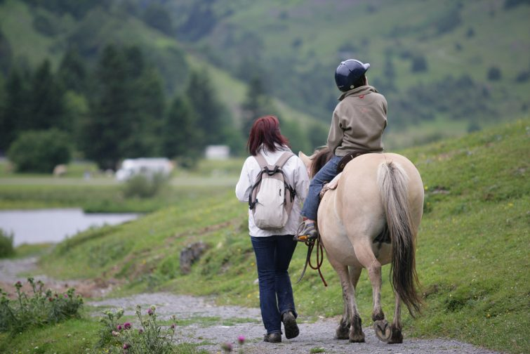 Balade à cheval savoie
