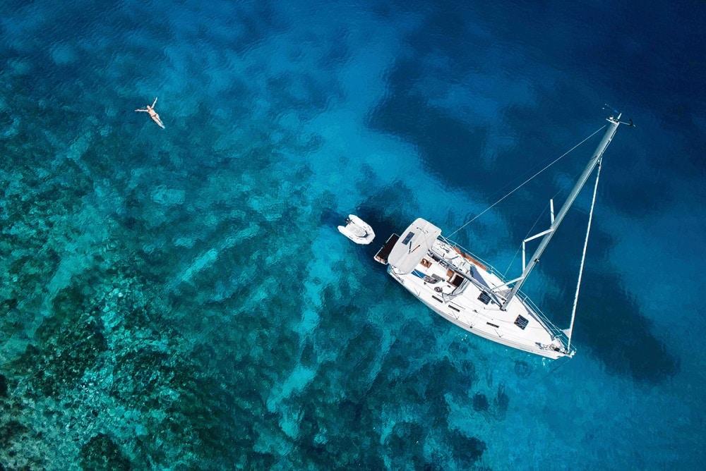 Un virée en mer avec un skipper