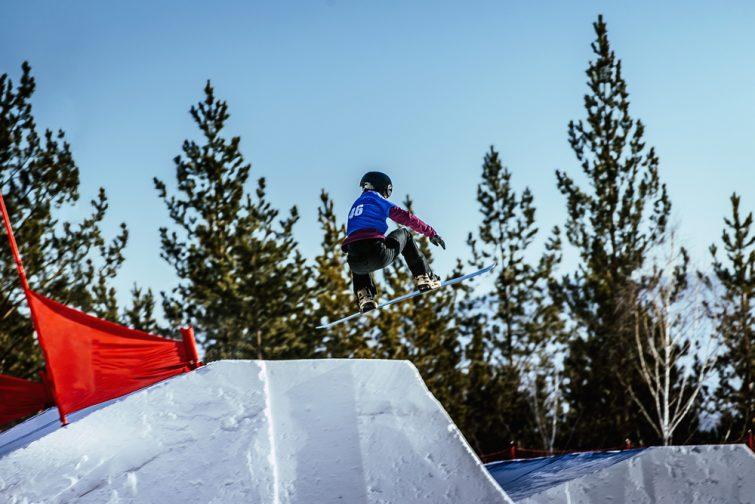Compétition de boardercross