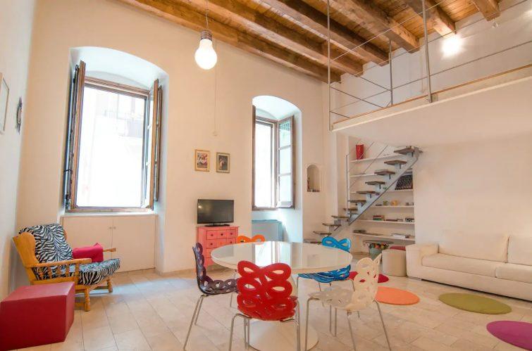 Appartement moderne dans un bâtiment historique