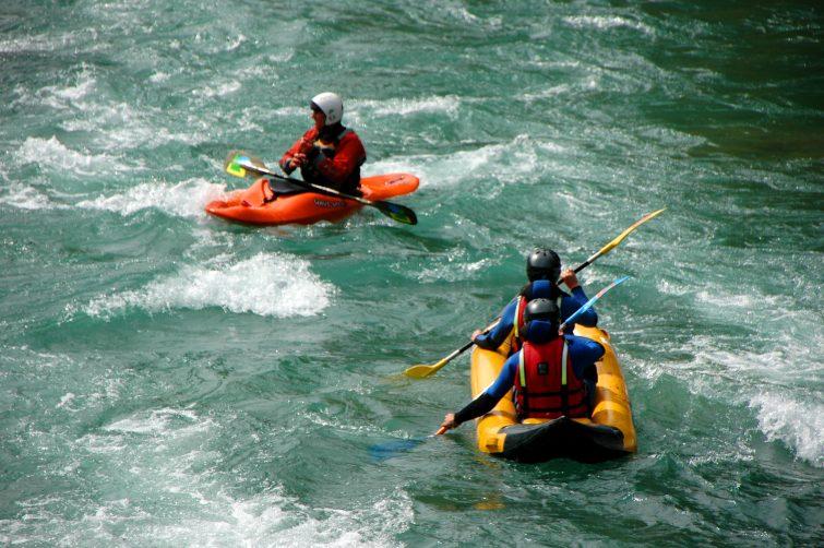 Canoe montagne