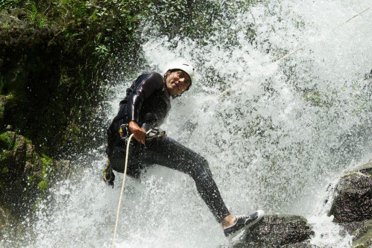 Canyoning alpes