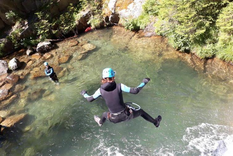 Canyoning à Chamonix
