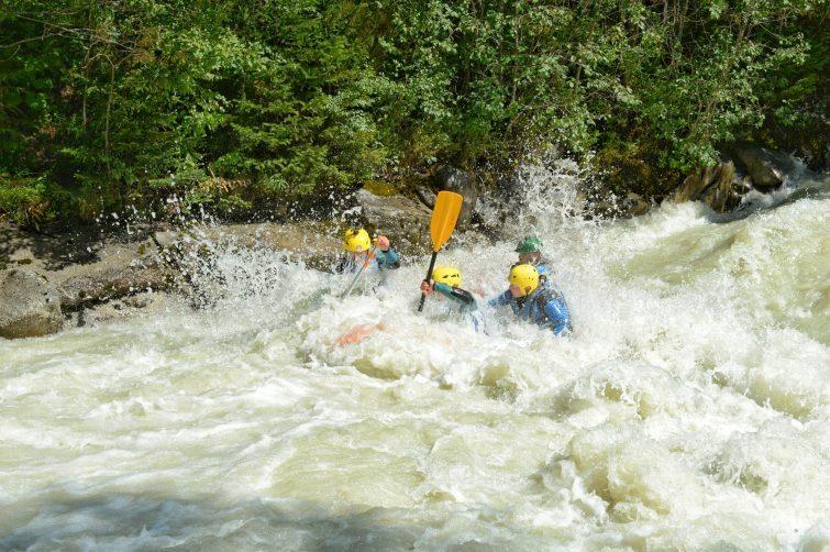 Rafting à Chamonix