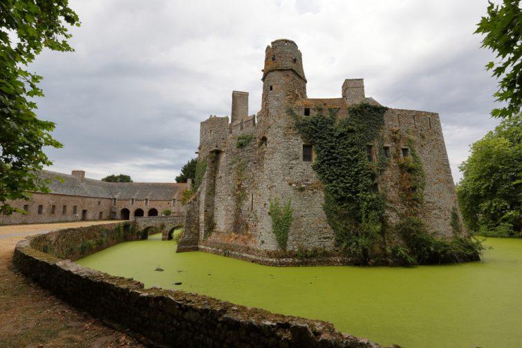 Château fort du Pirou, Normandie