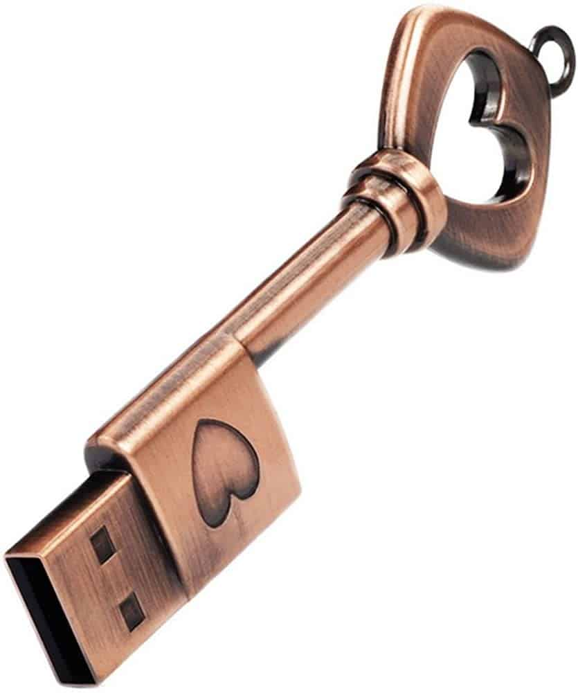 Un clé USB pour transporter vos documents numérisés