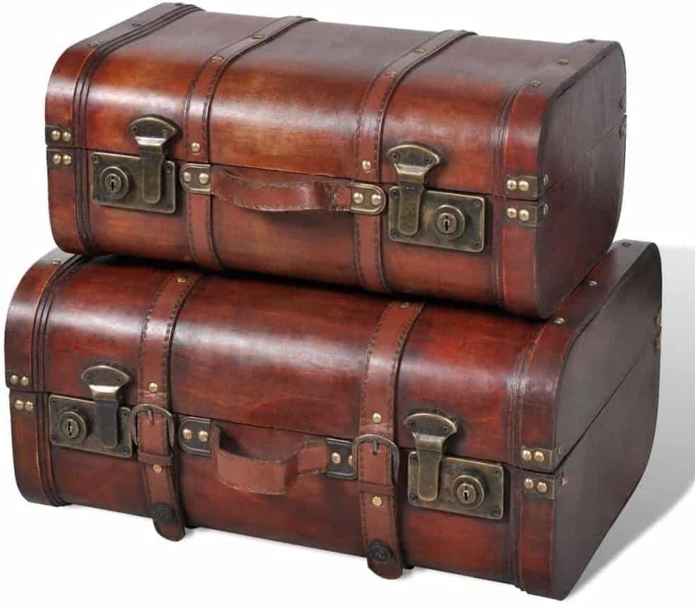 Des coffres de rangement vintage