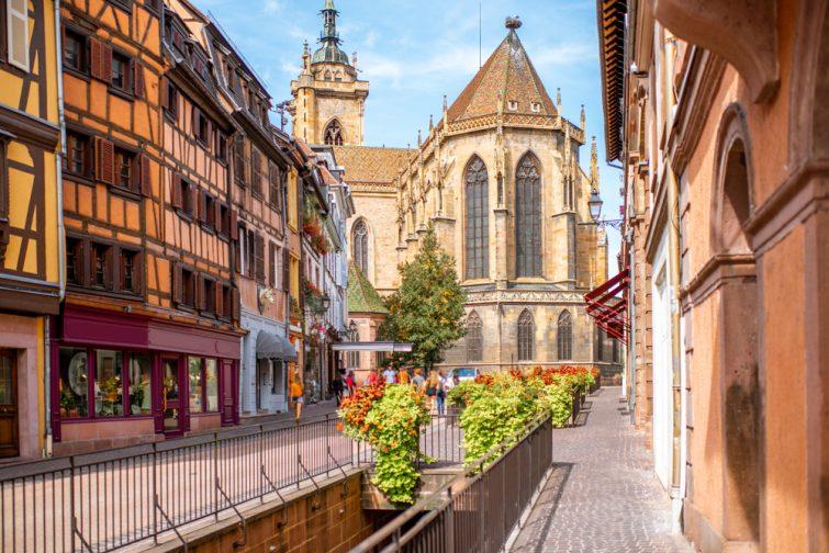 Visiter Colmar : la collégiale Saint Martin