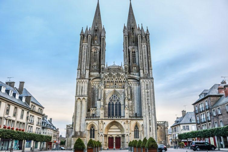 Cathédrale de Coutances, Normandie