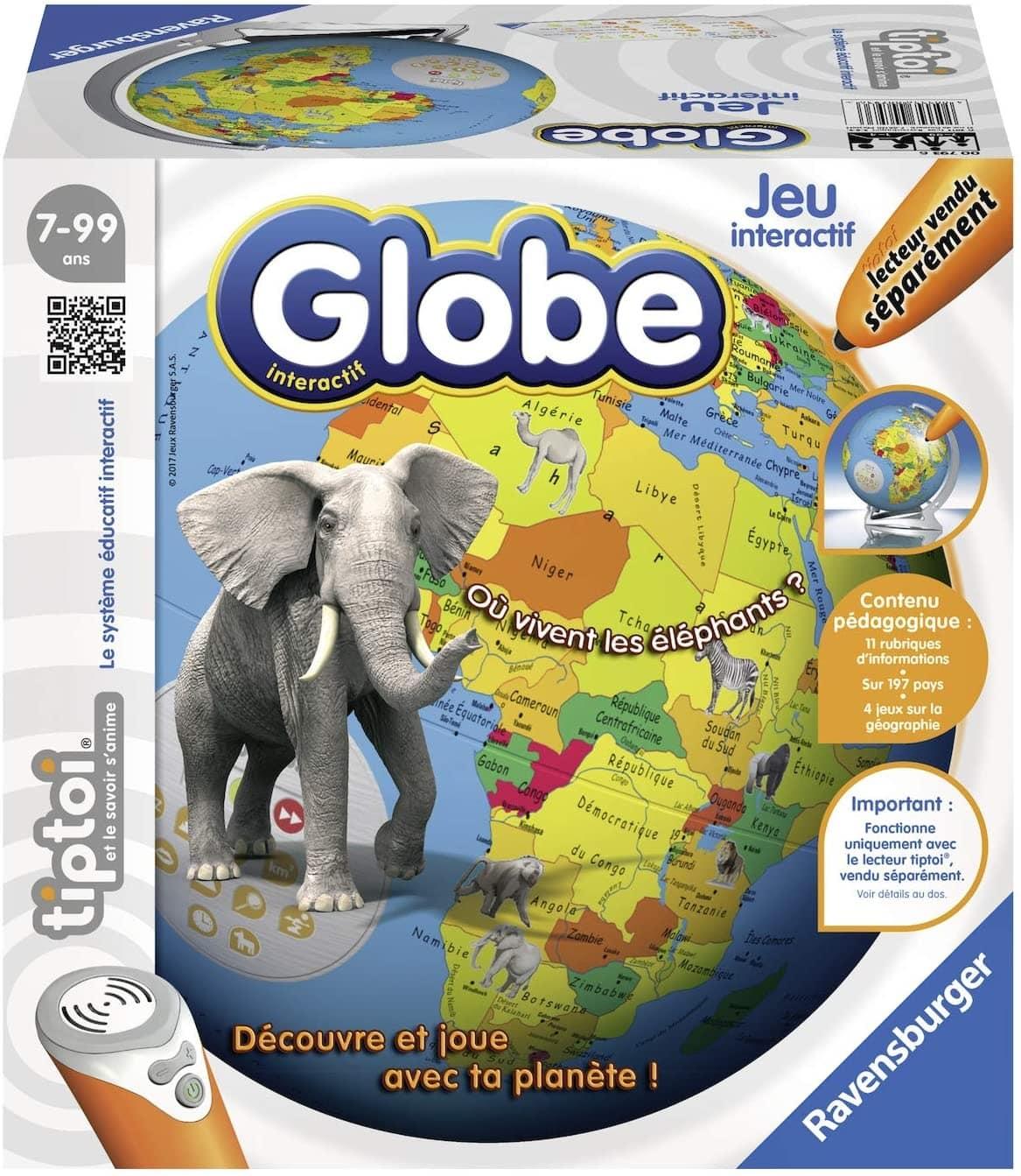 Un globe interactif
