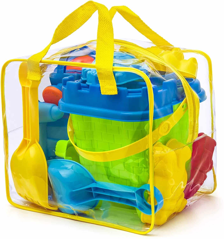 Un kit de jouets de plage