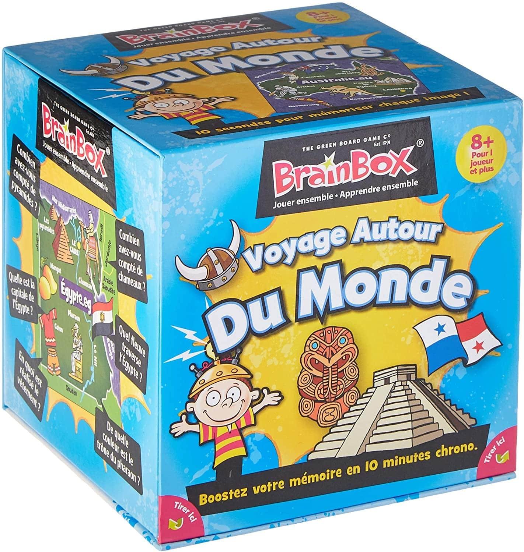 Le jeu Brain Box Voyage autour du monde