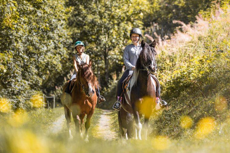 Equitation la CLusaz