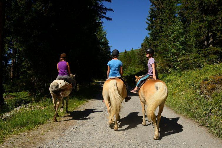 Equitation activité outdoor sainte foy tarantaise
