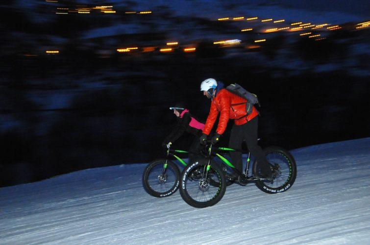 Fatbike activité outdoor à Valmeinier