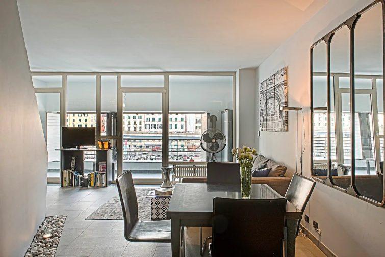 Airbnb à Gênes : appartement sur le port