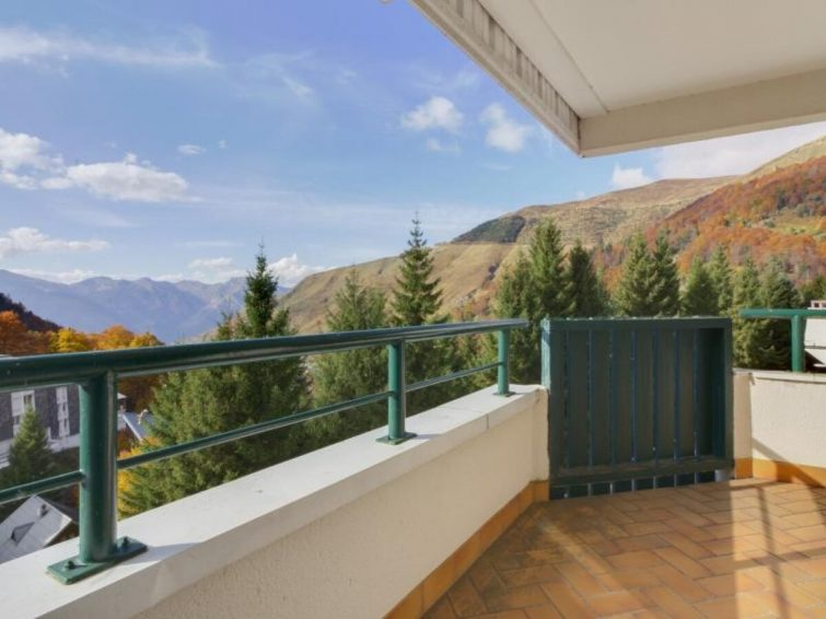 Studio avec vue sur la montagne