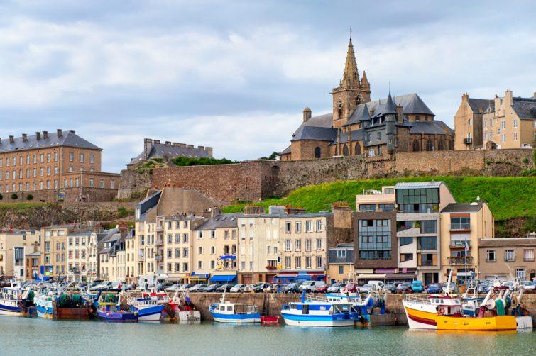 Granville et ses bateaux, Normandie