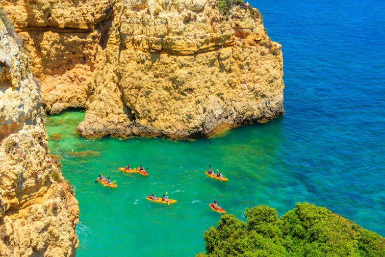 Kayak de mer Majorque