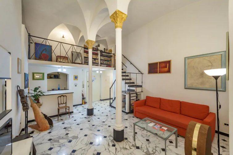 Airbnb à Gênes : la maison de l'artiste