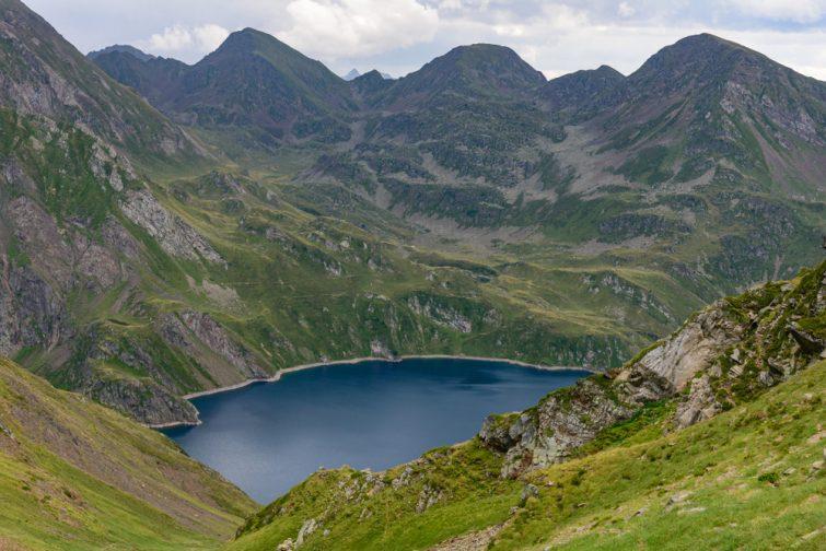 Lac bleu, Vallée de Lesponne, Pyrénées