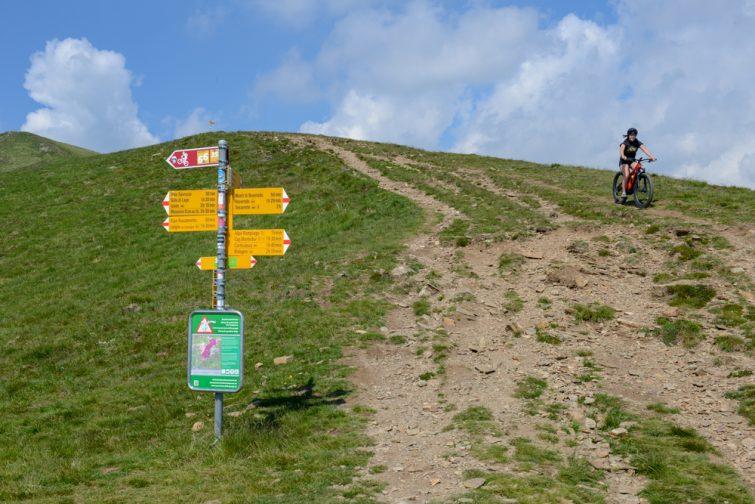 Excursion en Mountain Bike à Lugano